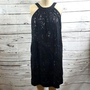 Sequins dress by Fumblin' Foe